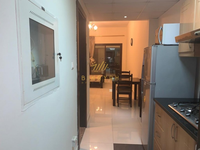 Fully Furnished Studio|22.5 K |Elite 6|Canal View