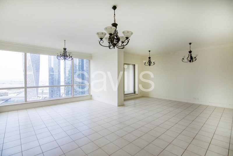High floor with full Marina view Available now