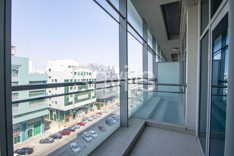 1 Bedroom With The Balcony and Fully-equipped Kitchen in Danat | Chiller Free