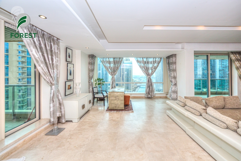 Fully Furnished | 4 Beds | Marina View| High Floor