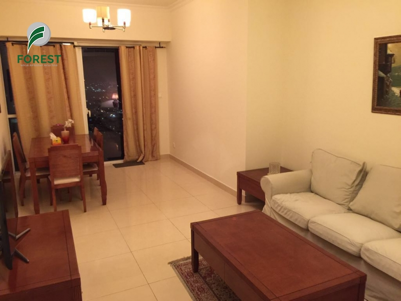 Spacious | Fully Furnished 1BR | Marina View