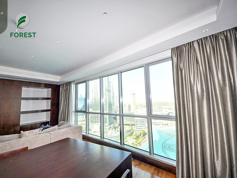 Upgraded   2 Beds + Study   Full Burj Khalifa View