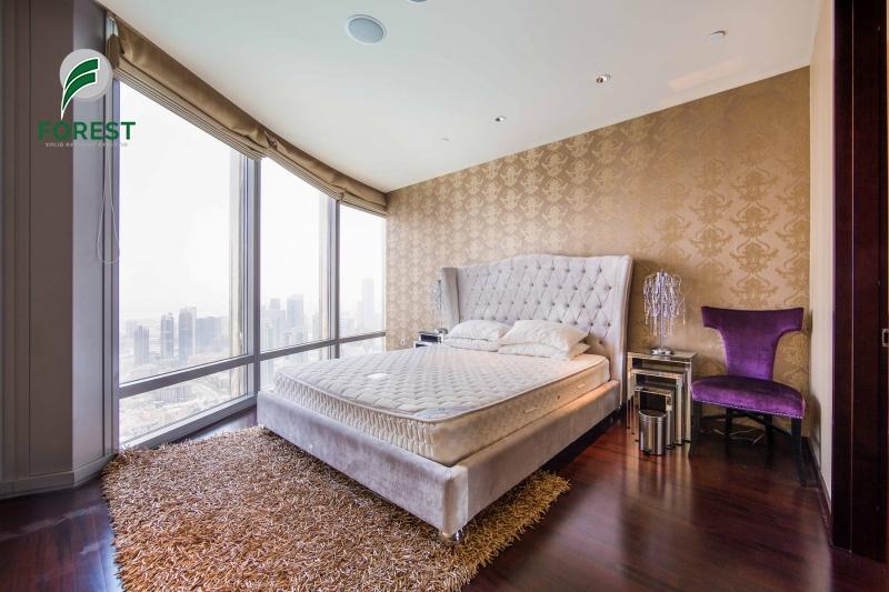 Furnished | 2BR | Full Fountain View Burj Khalifa