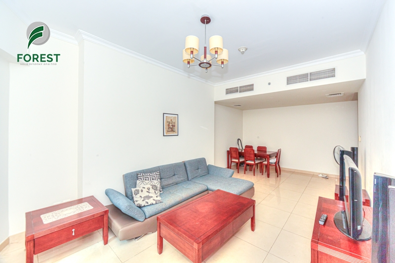 Spacious | Vacant | 1BR | Park View | High Floor