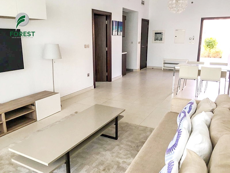 Large Terrace I Luxury Furnished 1BR |Chiller Free