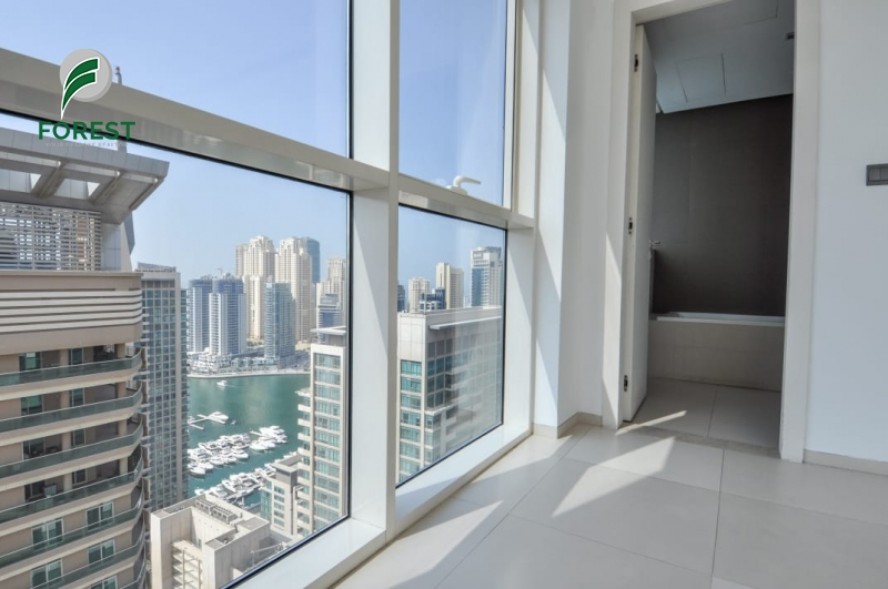 Spacious | 2 Bedroom | Marina View | Unfurnished