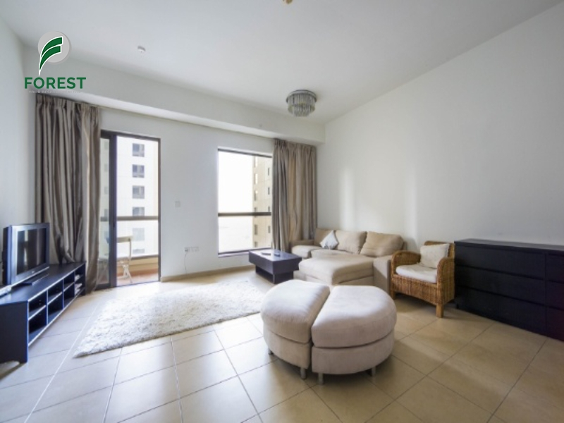 Fully Furnished |1BR with Partial Sea View