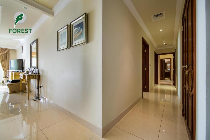 Luxurious| Full Sea View |3 Beds |Fully Furnished