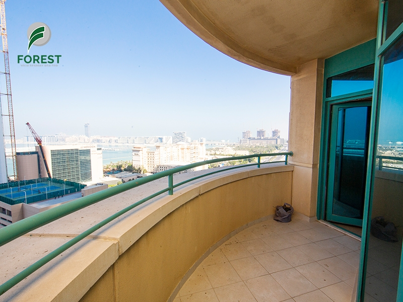 Partly Furnished | Spacious 2BR Apt | Mid Floor