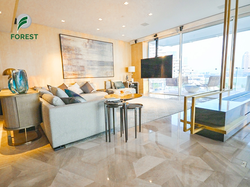Sea and Marina View |4BR Penthouse |Luxury Unit