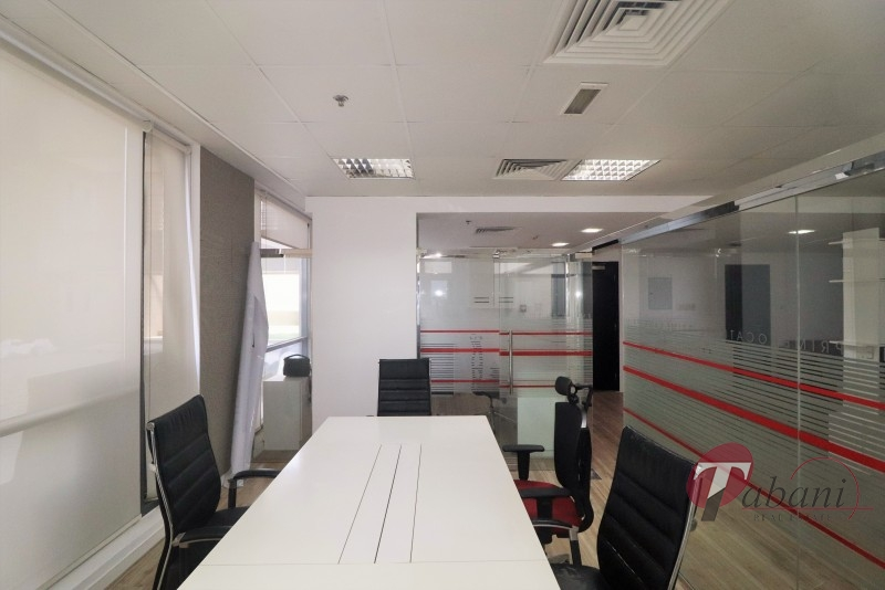 Fitted and Furnished office for sale. JVC