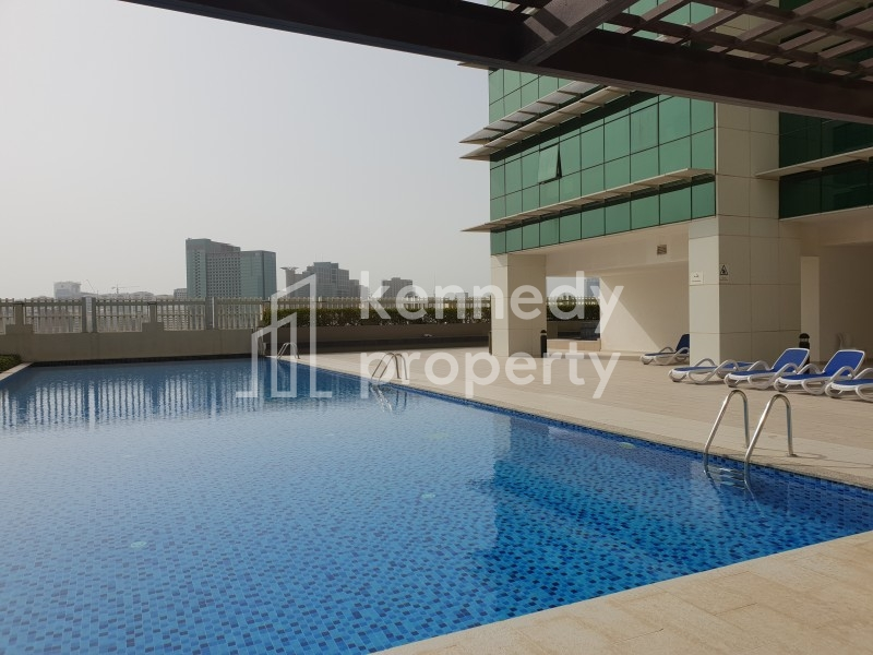 Superb layout in Tala  with balcony & lovely view