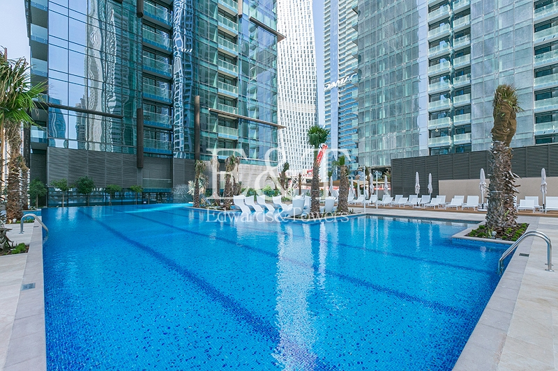 Ready to move In|Best Deal|Pool+Marina view