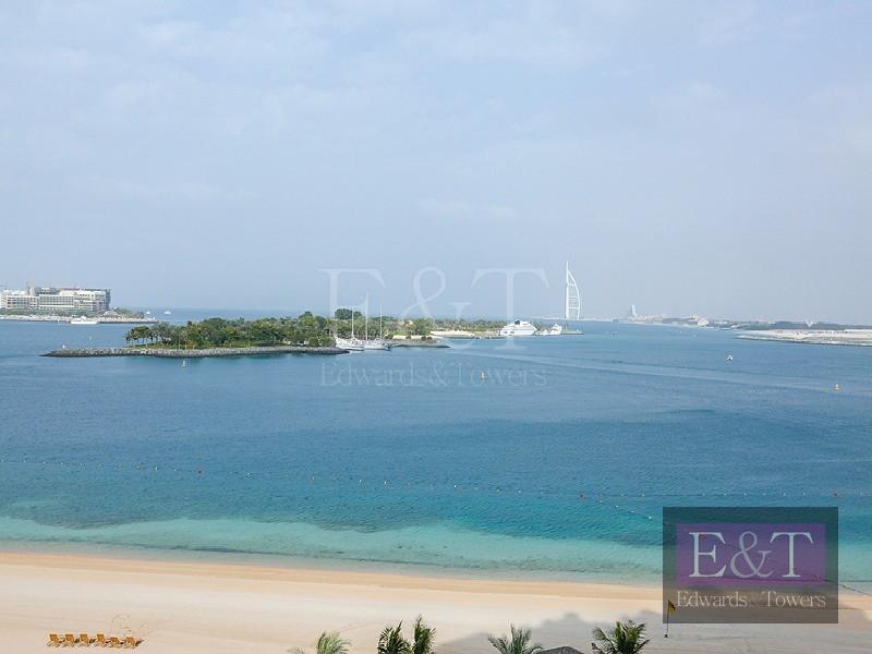 2BR Type D   Sea and Burj Al Arab Views, PJ