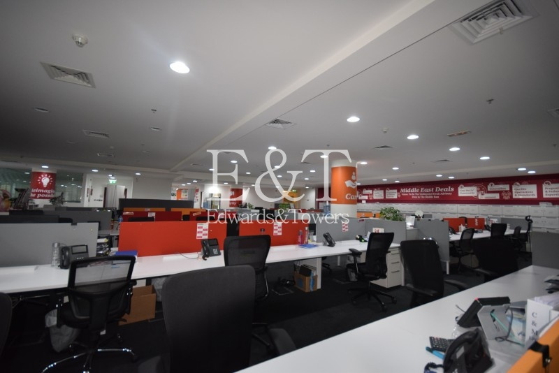 Fully Fitted Office | Emaar Square Bldg 4 | DT
