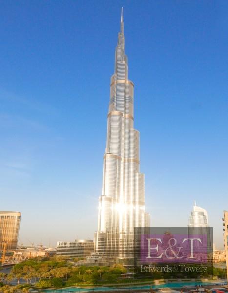 03lay-out | Burj Khalifa view | Vacant