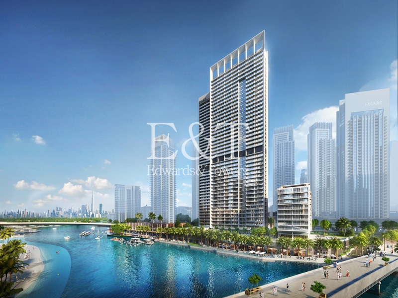 1 Bed with Views of Creek Tower at DCH