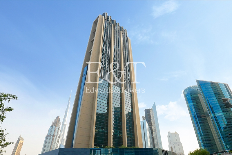 Large apt | Burj Khalifa view | High floor