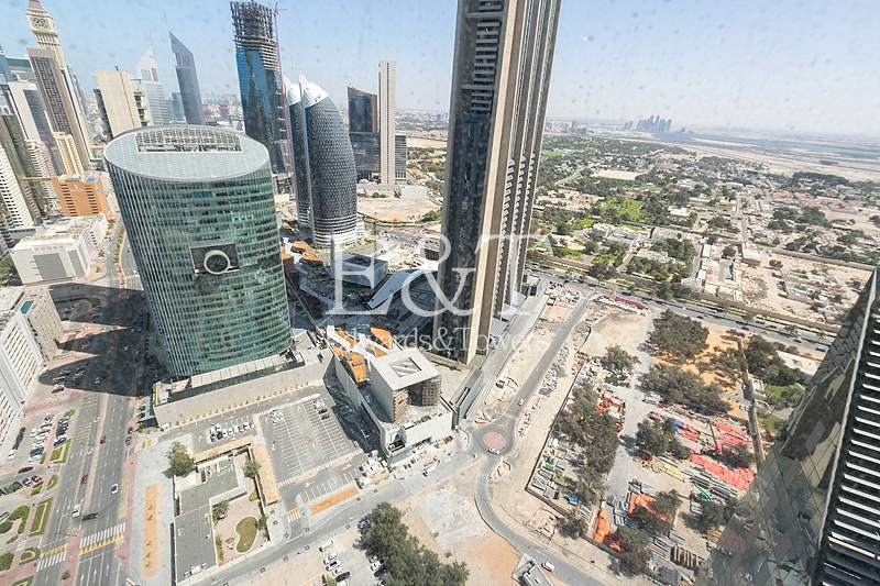 Duplex | Vacant | DIFC View | High floor
