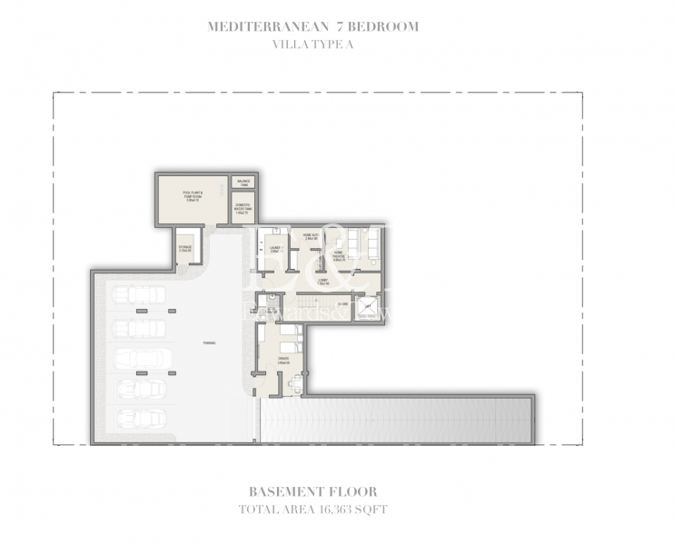 Modern Contemporary 7 Bedroom Mansion   MBR