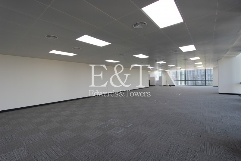 Office with Burj Khalifa View | BLVD Plaza T1 | DT