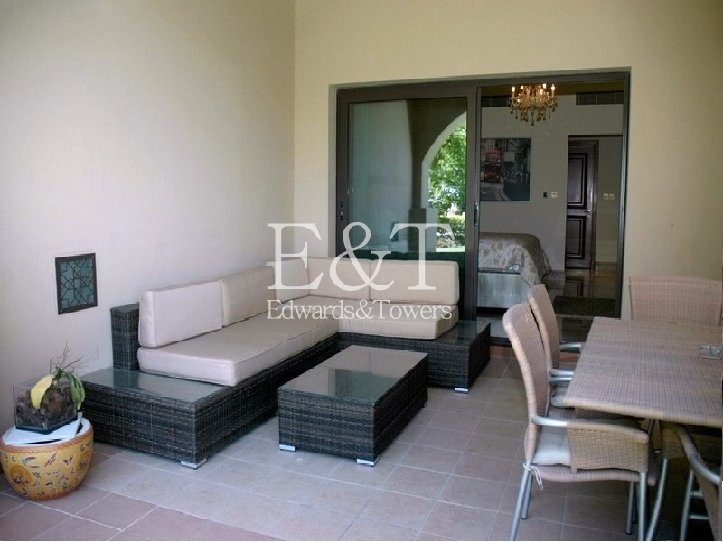 2 BR Fully Furnished ,Direct Access to the Pool,PJ