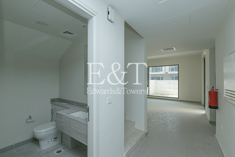 Well planned Emaar Community | 3 BR+M | DH