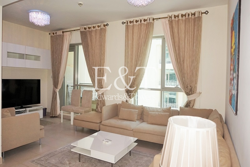 Fully Furnished | Modern | Two Balconies