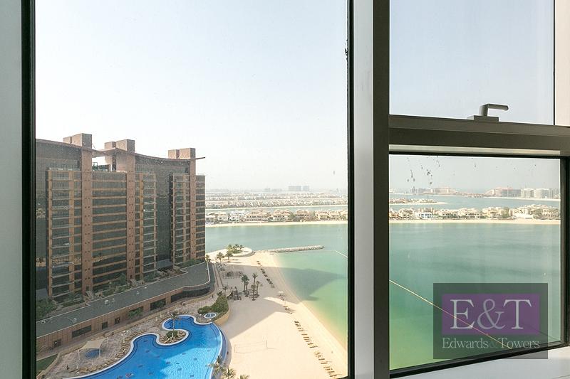High Floor, 3 BR, Unfurnished, Sea View, PJ