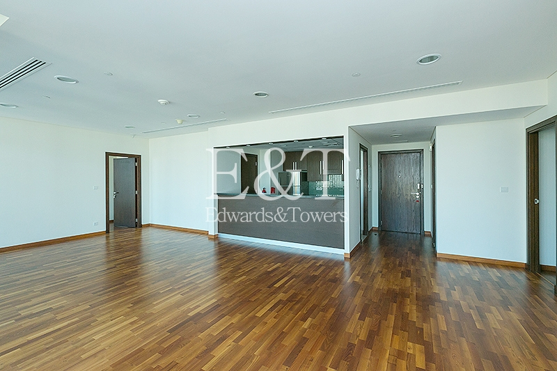 DIFC and Sea views | High Floor | Tenanted