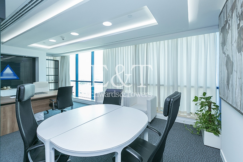 Combined Fitted Office | X3 Tower |Lake View, JLT