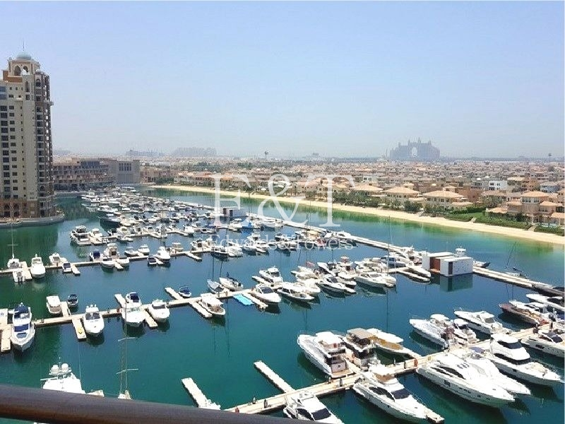 Managed 2 BR, Sea/Atlantis views, Furnished, PJ