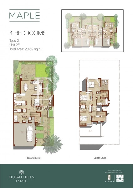 On the Park | Enjoy a Modern Layout | 4 BR+M | DH