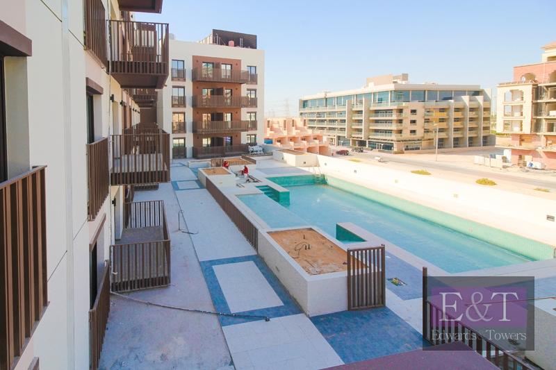 Pool View 2BR Apt | High Floor | Eaton Place JVC
