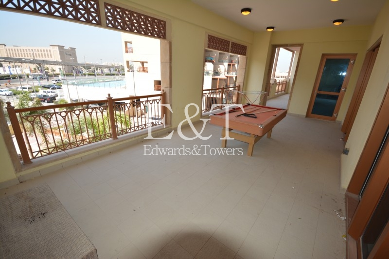 Low Floor, Road Views, Large Extended Balcony,  PJ
