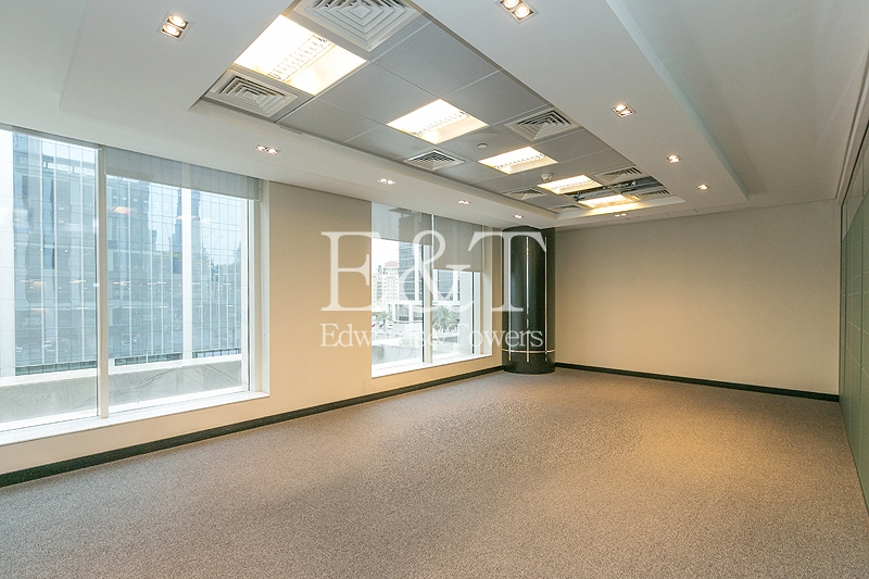 Fully Fitted Office for Rent | Emaar Square | DT