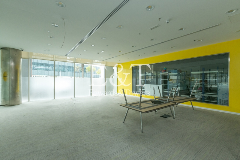Fully Fitted Office For Rent in Emaar Square | DT