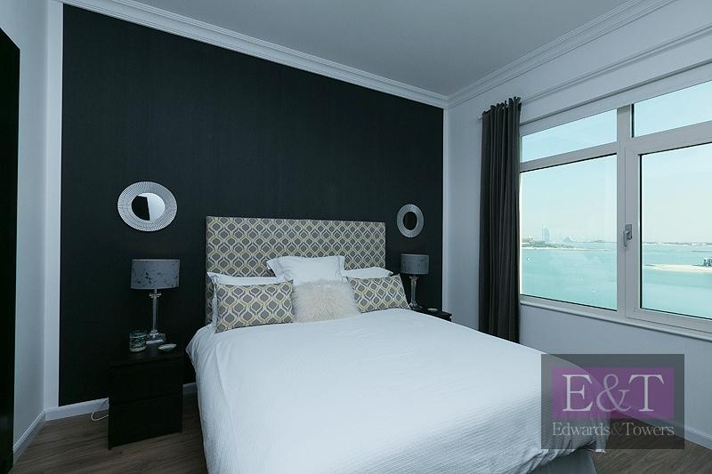 Sea Views, High Floor, Fully Furnished 3 BR, PJ