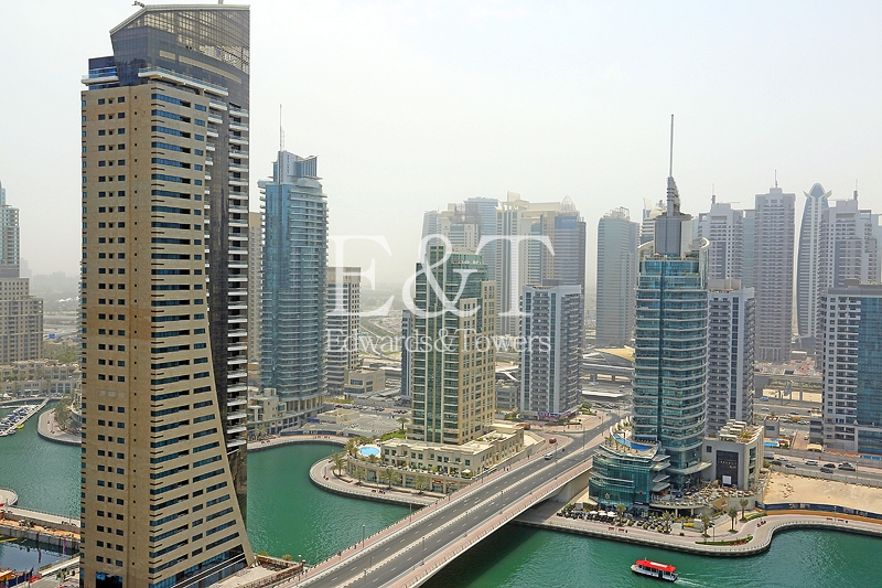 Exclusive | High Floor with Marina and Sea View