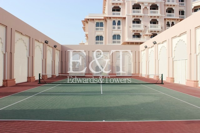 Full Sea and Pool view, 1 BR , Type 2 Mughal, PJ