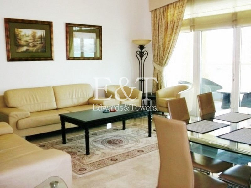 Managed, Furnished D-Type 2 Beds | Sea view | PJ