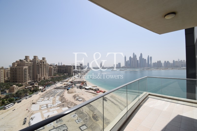High Floor | Marina + JBR Views I 2BR + Study I PJ
