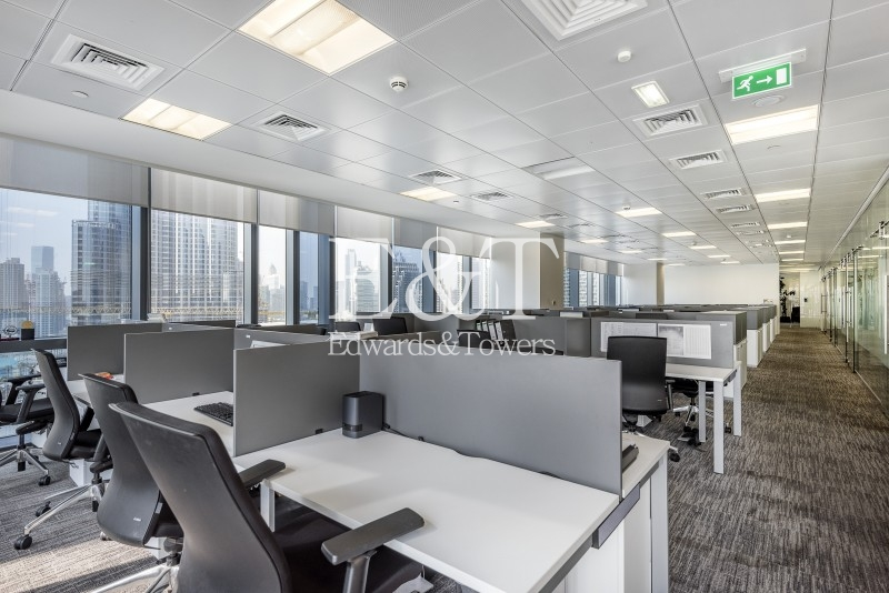 Fully Furnished Office Sale Blvd Plaza T1