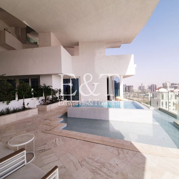 Vacant | High End | Private Pool On The Balcony