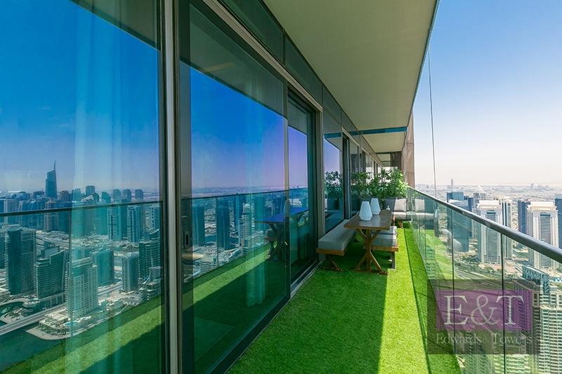 Luxury Furnished | Panoramic Marina and Sea View