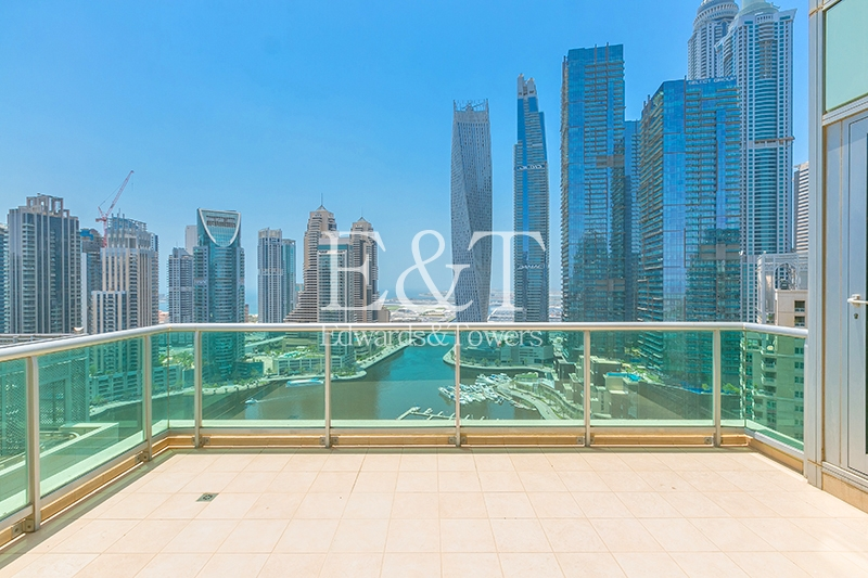 Vacant and High Floor|Full Marina View|2 Parkings
