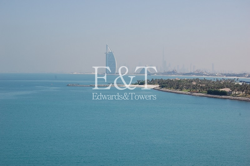 2 BR   Unfurnished   D type   Sea view   PJ