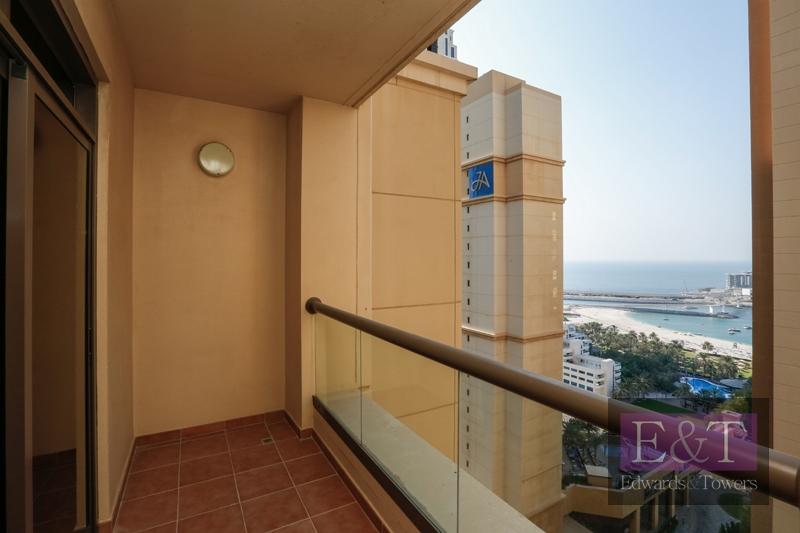 Partial Sea View | 2BR | Ready to Move In|Amwaj 4