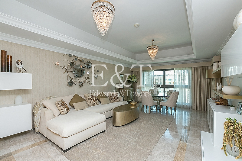 Stunning Furnished High Floor Burj View, 1 BR, PJ