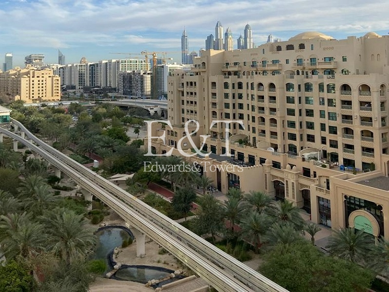 High Floor 2 BR , F Type with Park Views, PJ